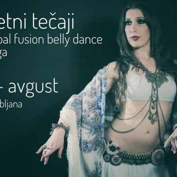 POLETNI TEČAJI JOGA IN TRIBAL FUSION BELLY DANCE