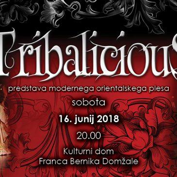 TRIBALICIOUS –  predstava modernega orientalskega plesa 2018