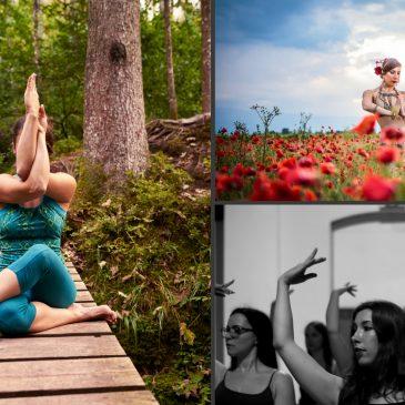 POLETNI TEČAJI – JULIJ in AVGUST 2018 joga Tribal Belly dance